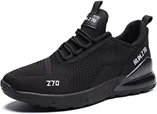 Kvovzo Men's Running Shoes Mesh Athletic Tennis Sport Shoe Cross Trainer Outdoor Boot for Men Fitness Cycling Fashion Sneakers