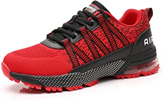 Monrinda Chaussures de Sport Homme Femme Baskets Fonctionnement Sneakers Poidsléger Respirant Jogging Travail Décontractée