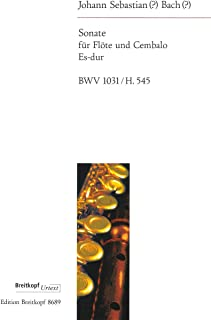 Bach: Flute Sonata in E-flat Major, BWV 1031