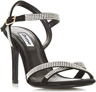 Dune London Cross Strap Mid Heel Sandal EU37