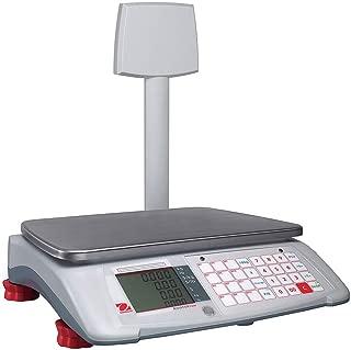 Ohaus A71P30DTNUS Aviator 7000 Advanced Price Computing Retail Scale 30/60lbs W Tower