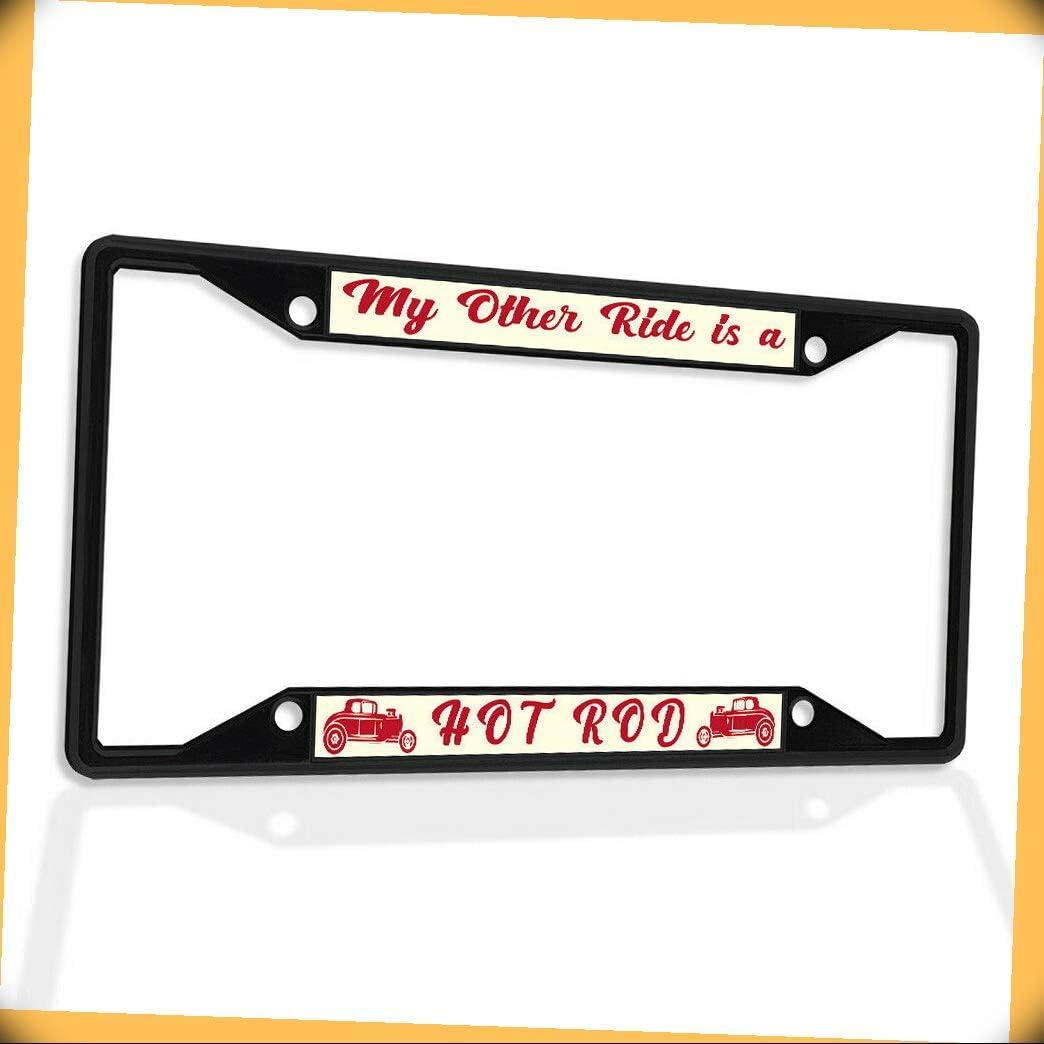 New Metal Aluminum Alloy Black B4K License Max 57% OFF Insert My ...