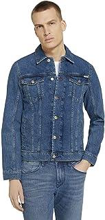 TOM TAILOR Men's Basic Trucker Denim Jacket