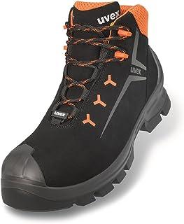 Uvex 6527 2 S3 Hi WR HRO SRC Goretex Chaussures de travail Noir Taille 46