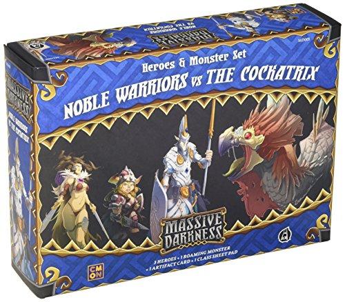 CMON Massive Darkness: Noble Warriors vs The Cockatrix