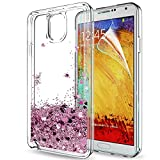 LeYi Galaxy Note 3 Case with Screen Protector, Girl Women