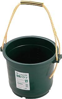 緑長 プロ用建材容器 強靭バケツ 13型 13L グリーン