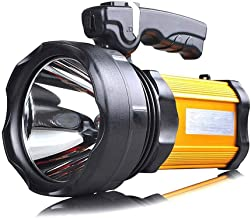 GLJJQMY Searchlight Glare Flashlight Long-Range Charging Super Bright Multi-Function Portable Searchlight Side Light 1200 ...