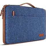 DOMISO 10 pulgada Funda para portátil con tableta de con asa Bolsa de transporte para de 9.7'10.5'11'iPad Pro/10.5'iPad Air/Microsoft Surface Go 2018/Samsung Galaxy Tab S3 S4/Lenovo Ideapad D330, Azul