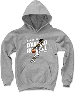 500 LEVEL D'Angelo Russell Brooklyn Basketball Kids Hoodie - D'Angelo Russell Drive
