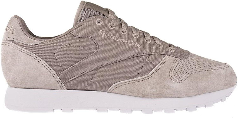Reebok Cl Leather CC V69224 Footwear Beige Mens Trainers Sneaker shoes Size  EU 45 UK 10.5