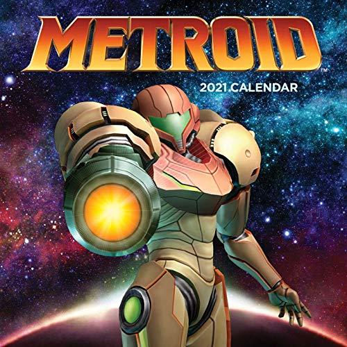 OFFICIAL METROID 2021 WALL CALENDAR