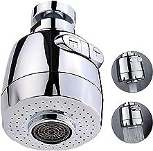 Qoosea Aireador De Grifo de 360 Grados, Grifo Universal Dispositivo de Extensión de Rociador Filtro, Grifo Anti-Salpicadur...