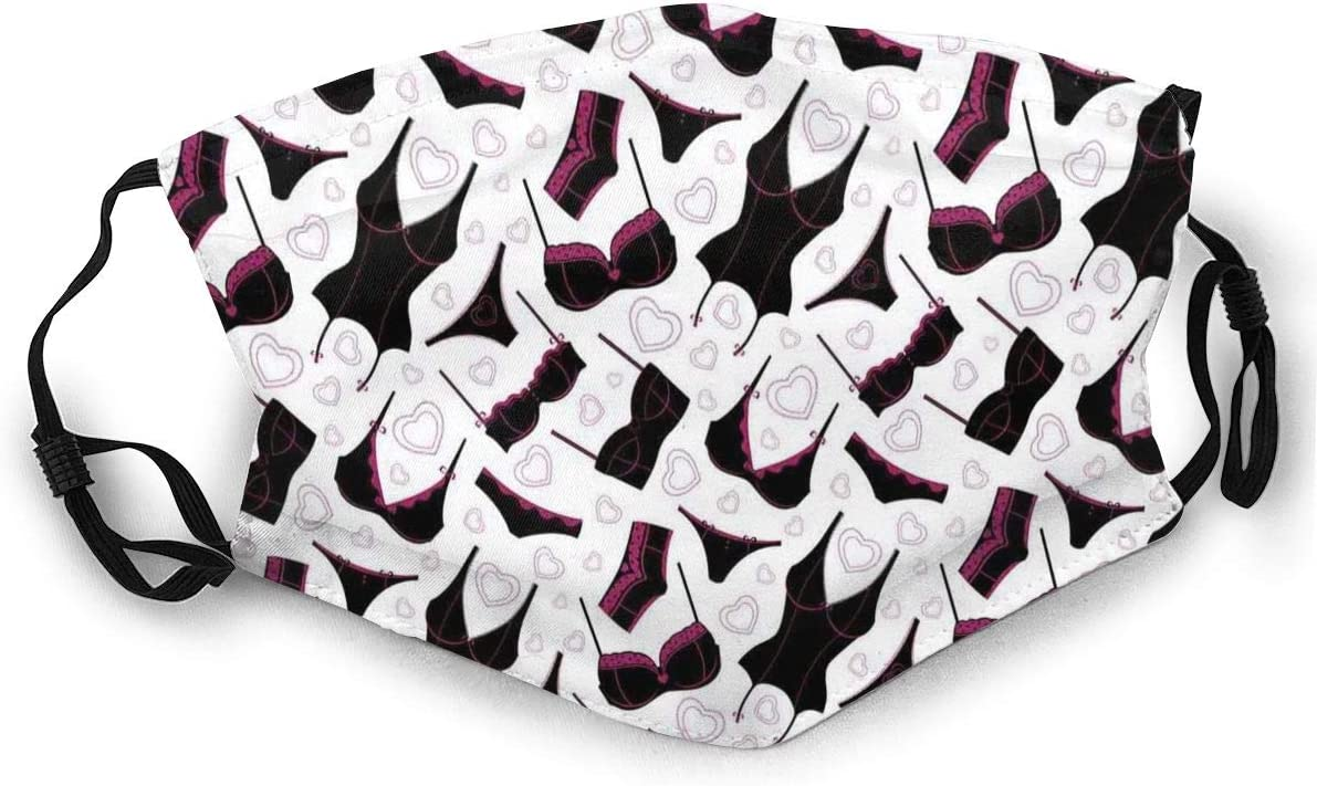 Latest item TENJONE Fashion Comfortable Windproof Pattern Lingerie Regular store mask Bras