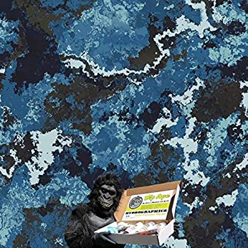 HYDROGRAPHIC FILM VEIL CAMO ALPINE GREEN HYDRO WATER TRANSFER DIP APE