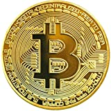 3Pcs Bitcoin Coins-Protective Collectible Gifts.   BTC Cryptocurrency   Blockchain Cryptocurrency   with Original Commemorative Tokens