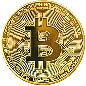 3Pcs Bitcoin Coins-Protective Collectible Gifts | Blockchain Cryptocurrency | with Original Commemorative Tokens | Chase Coin | BTC Cryptocurrency…
