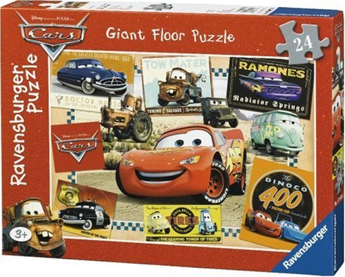 Ravensburger - 07066 - Puzzle Enfant - Cars - 24 Pièces - Sol