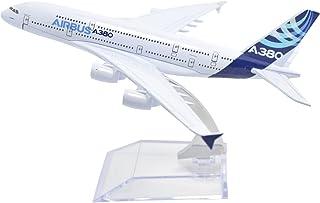 TANG DYNASTY 1/400 16cm エアバス社塗装機 エアバス A380 高品質合金飛行機プレーン模型 おもちゃ