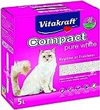 VITAKRAFT Compact en Barro Pure White para Arena de Gato