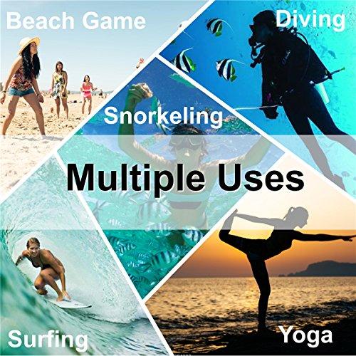 JIASUQI Mens Athletic Beach Walking Sandals Water Skin Shoes Black US 7.5-8.5 Women, 6.5-7.5 Men