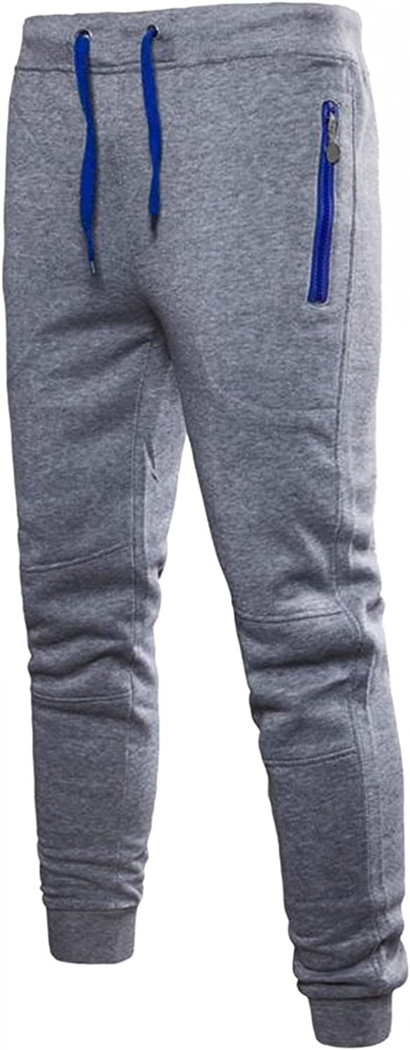 Beshion Sweatpants for Men Jogger Slim Fit Light Breathable Quick Dry Running Pants Hiking Sport with Zipper Pockets