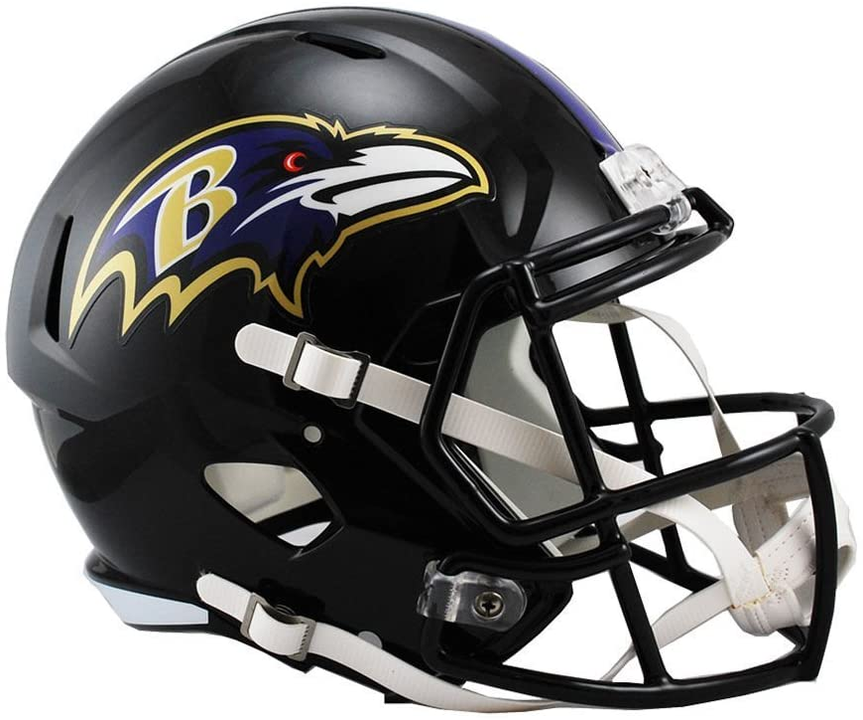 Riddell NFL Baltimore Ravens Full Replica Popular overseas Size Free shipping on posting reviews Speed Helmet