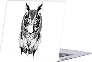 AQYLA MacBook Air 13 inch Case 2020 2019 2018 Release A2179 A1932,Plastic Hard Shell Protective Cover Compatible with MacBook Air Retina 13 with Touch ID,Owl R343