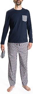 Blower Conjunto de Pijama para Hombre en algodón orgánico e Antifaz
