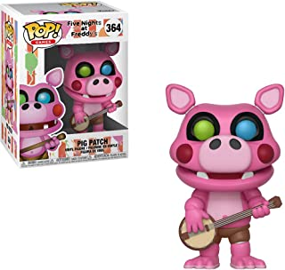 Pig Patch: Five Nights at Freddy's x Funko POP! Games Vinyl Figure + 1 Official FNAF Trading Card Bundle [#364 / 32056]