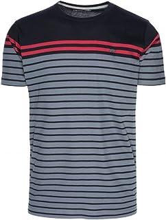 7f0082569 Ternua ® ® ® Camisa MC DESTA Hombre - Color Gris/Rayas Grises
