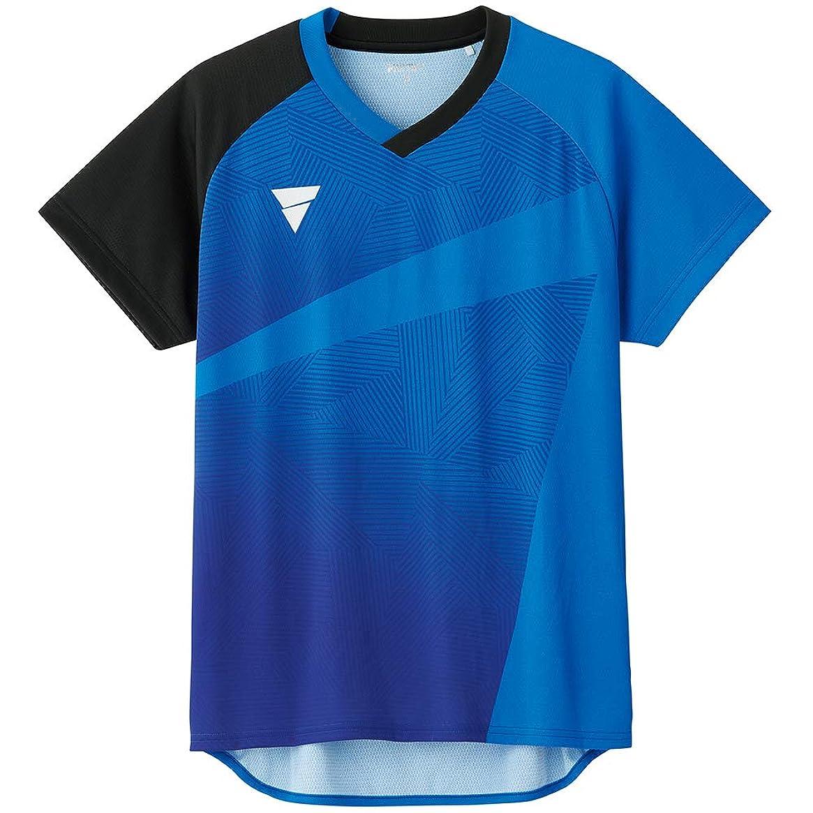 恋人なかなか散逸VICTAS(ヴィクタス) 卓球 男女兼用 ゲームシャツ V-GS801 031474
