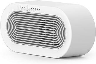 QIAO Calentador Calefactor, 5 Segundos para Calentar 250W De Baja Potencia Termostato Seguro PTC, Calentador Habitación, para Habitación, Oficina,Baño