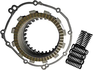 JINFANNIBI Complete Clutch Kit Heavy Duty Springs and Gasket Compatible for Yamaha YZF R6 2006-2020 2C0-W001G-00-00