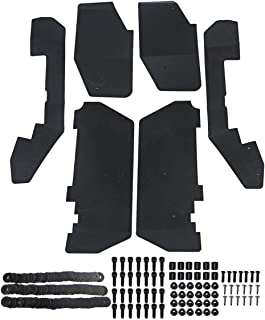 A-Premium UTV Mud Flaps Fender Flares for Honda Pioneer 1000-5 2016-2018 Front and Rear 6-PC Set