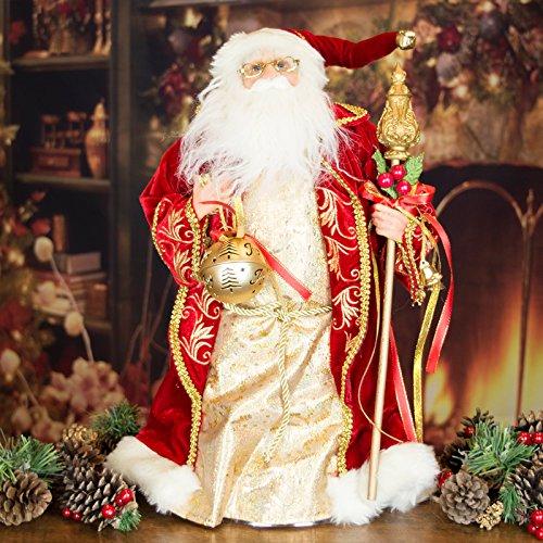 Lusso vintage look Babbo Natale decorazione/albero di Natale–48cm
