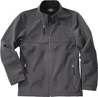 Charles River Mens Ultima Soft Shell Jacket-Pewter-L