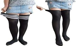[エスポワール エース] 大きいサイズ ニーハイソックス 靴下 2足セット