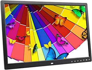 RAPLANC Digital Photo Frame 17.3 inch HD Display 1600/×900 Digital Picture Frame with USB and SD Card Slots and Remote Control
