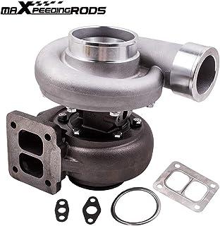 maXpeedingrods GT45 T4 Upgrade Turbo Charger V-Band 1.05 A/R 98mm 600+HPs Huge Boost, Racing External Wastegate Turbocharger for 3.0L-6.0L Engine