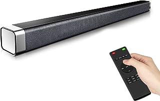 Sound Bar for TV, 120dB Sound Bar, Soundbar with Built-in Subwoofer & Wireless Bluetooth 5.0, 3D Surround Sound, 4 EQ Mode...