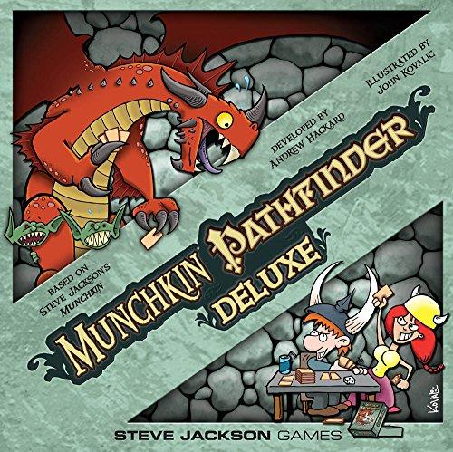 Steve Jackson Games 1498SJG - Brettspiel - Munchkin Pathfinder Deluxe - Englisch