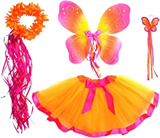 orange fairy costume
