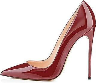 3720215e80ac11 EDEFS Escarpins Femme - Sexy Talon Aiguille - 120mm High Heel Chaussures -  Grande Taille