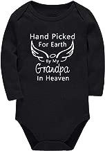Rixin HandPickedforEarth byMyGrandpa Bodysuits for Newborn Infant Boys Cotton Clothes