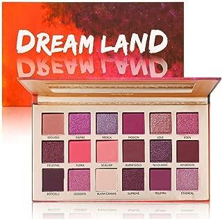 DONGXIUB Dream 18 Color Warm Neutral Eyeshadow Smoky Makeup Palette Matte Shimmer Waterproof
