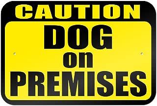 Caution Dog on Premises 9