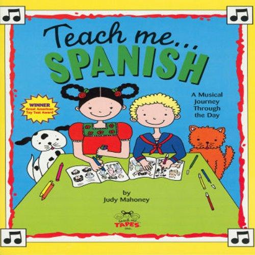Teach Me Spanish audiobook cover art