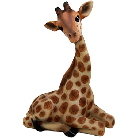 Amazon Com Giraffe Figurine Collectible Figurines Garden Outdoor