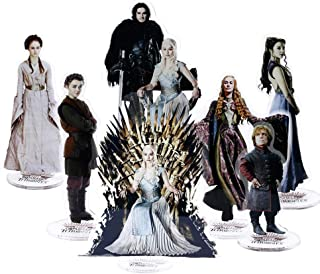 Cosplay_Rim Game of Thrones Dragon Queen Snow Stand Acrylic Doll Ornament Desk Decoration